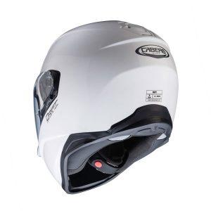 caberg-drift-white-motorbike-crash-helmet-rear-view