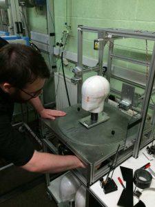 SHARP-helmet-testing-rig-setup