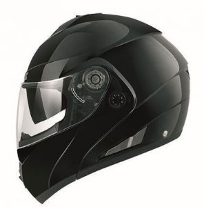 Shark-openline-prime-black-crash-helmet