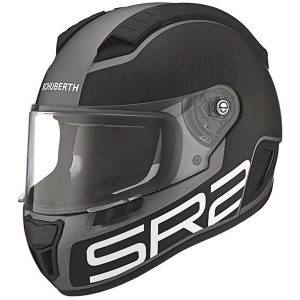 schuberth SR2 crash helmet pilot-grey