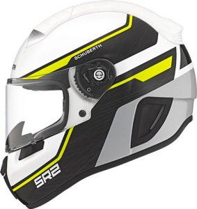 schuberth-SR2-motorcycle-helmet-in-lightning-yellow-side-view