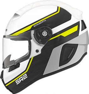 schuberth-SR2-motorcycle-helmet-in-lightning-yellow-side-view