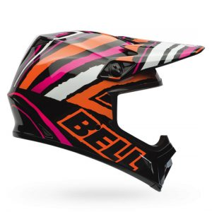 Bell-mx-9-scrub-pink-side-view