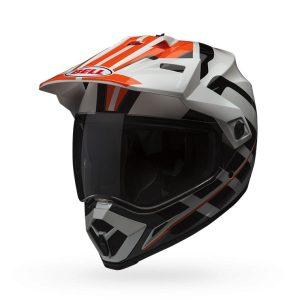 bell-mx-9-adventure-raid-helmet-orange-white-front-view
