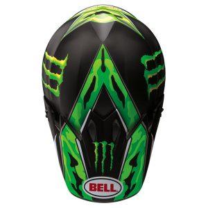 bell-mx-9-motocross-replica-camo-green-top-view