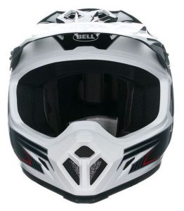 bell mx9 blockade motocross motorcycle crash helmet front view