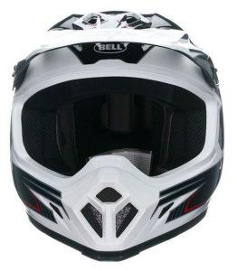 bell mx9 blockade motocross motorcycle crash helmet front view