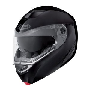 caberg-modus-motorcycle-helmet-metal-black-side-view-chin-down