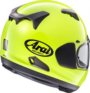 arai-signet-x-crash-helmet-flourescent-yellow-rear-view