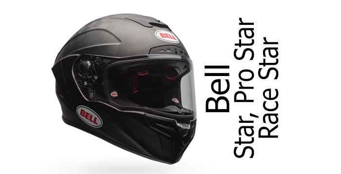 A look at the Bell Stars - the Bell Star, Race Star and Pro
