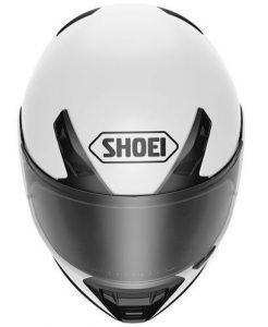 shoei-rf-sr_helmet_solid-white-front-view