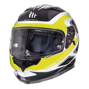 mt-blade-sv-motorcycle-crash-helmet-morph-fluor-yellow-front-view
