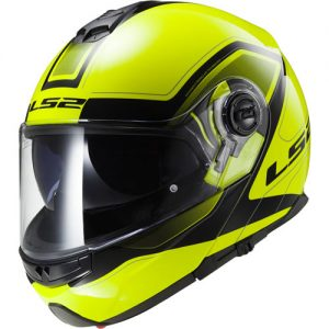 LS2-FF325-Strobe-Motorcycle-Helmet-Civik-HiViz-Yellow-side-view