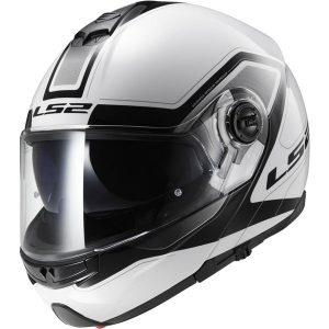LS2-FF325-Strobe-Motorcycle-Helmet-civik-white-black-side-view