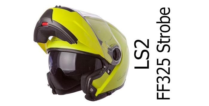 Ls2 Ff325 Strobe Flip Front Motorcycle Crash Helmet Review