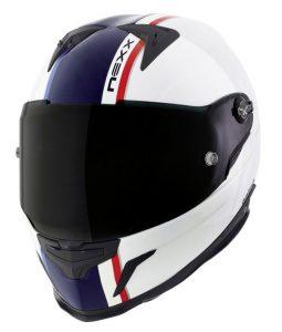 nexx-xr2-anima-crash-helmet-white-blue-front-view
