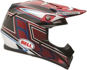 Bell-moto-9-carbon-tagger-clash-red-helmet-side-view