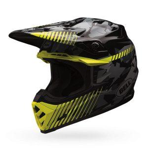 bell-moto-9-crash-helmet-yellow-camo-side-view