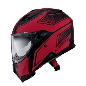 caberg-stunt-blade-matt-black-red-motorcycle-helmet-side-view