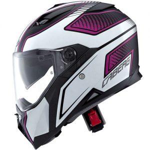 caberg-stunt-blade-motorcycle-helmet-matt-black-pink-side-view