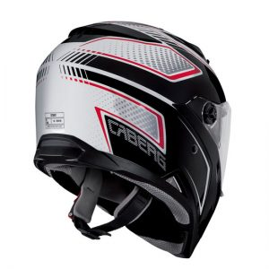 caberg-stunt-blade-white-black-full-face-motorcycle-helmet-rear-view