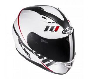 hjc cs-15 space motorcycle crash helmet top view