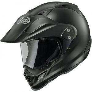 arai-xd4-black-frost-adventure-helmet-top-side-view