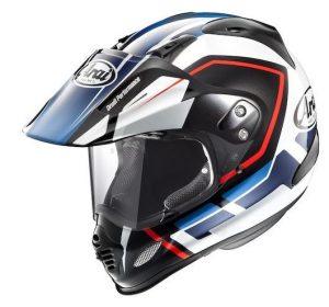 arai xd4 detour motorcyle helmet side view