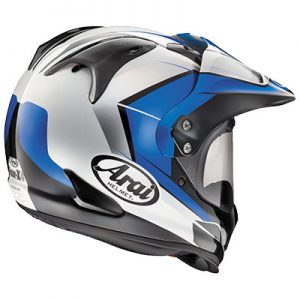 arai-xd4-flare-blue-adventure-crash-helmet-rear-view