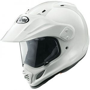 arai-xd4-solid-white-adventure-crash-helmet-side-view