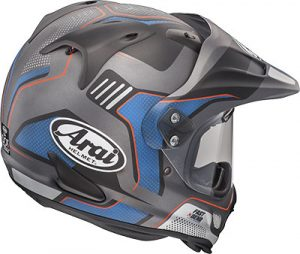 arai-xd4-vision-black-frost-dual-sport-helmet-rear-view