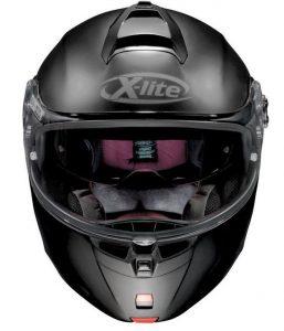 x-lite-x-1004-flip-front-motorcycle-crash-helmet-front-view-matt-black