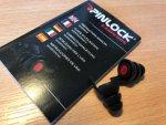 Pinlock ear plugs