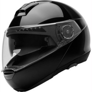 schuberth-C4-gloss-black-modular-motorcycle-helmet-side-view