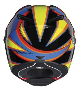AGV-Veloce-S-motorcycle-helmet-Rossi-Soleluna-rear-view