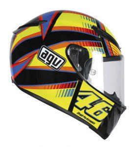AGV-Veloce-S-motorcycle-helmet-Rossi-Soleluna-side-view