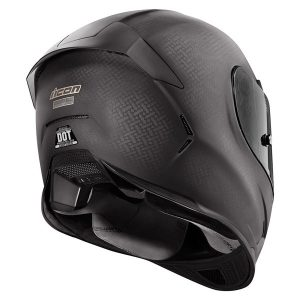 Icon-Airframe-Pro-carbon-motorcycle-crash-helmet-rear-view