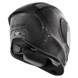 Icon-Airframe-Pro-construct-black-motorcycle-helmet-rear-view
