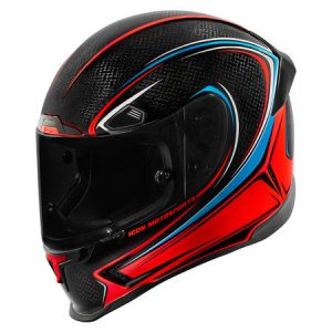 Icon-Airframe-Pro-halo-carbon-glory-motorcycle-helmet-side-view
