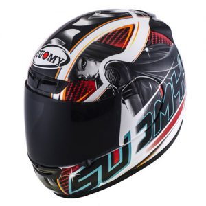 suomy-apex-pike-red-motorcycle-crash-helmet-side-view