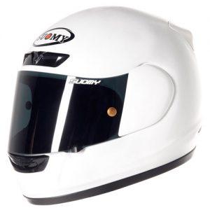 suomy-apex-plain-white-motorbike-crash-helmet-side-view