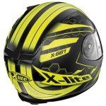 x-lite-x-661-honeycomb-black-yellow-motorbike-helmet-rear-view