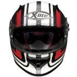 x-lite-x-661-slipstream-flat-black-red-front-view