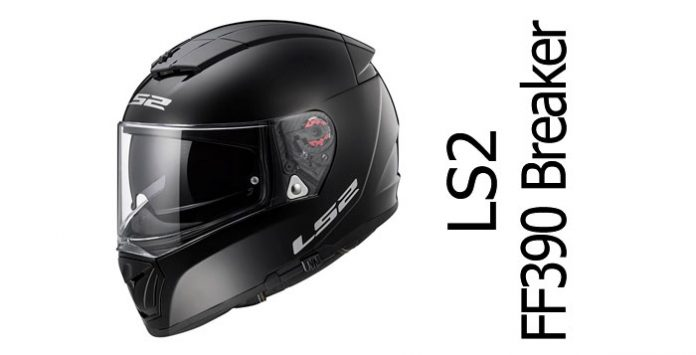 35db7669 LS2 FF390 Breaker full face motorcycle helmet review - Billys Crash ...