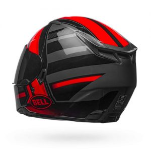 bell-RS2-black-red-tactical-motorcycle-crash-helmet-rear-side-view