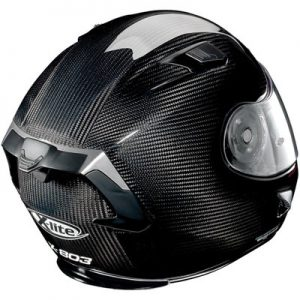 x-lite-x-803-gloss-black-carbon-crash-helmet-rear-view