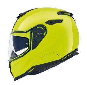 Nexx-sx100-core-neon-yellow-motorcycle-helmet-side-view