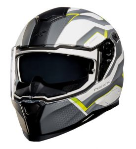Nexx-sx100-i-flux-motorbike-crash-helmet-front-view