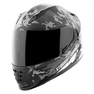 speed-and-strength-ss1600-straight-savage-black-helmet-front-view