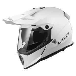 ls2-pioneer-solid-white-dirt-bike-adventure-helmet-side-view-
